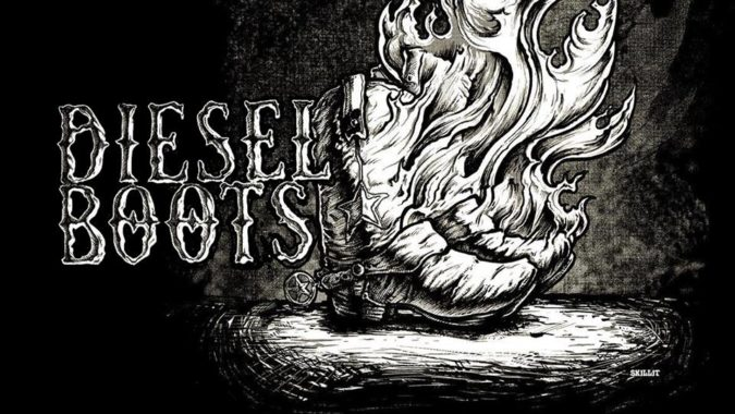 "DIESEL BOOTS Debuts ""Whisky 'N' Tears"" Single & Official Video"